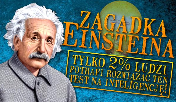 Zagadka Einsteina – test na inteligencję