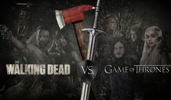 The Walking Dead vs Game of Thrones!