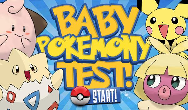 Baby Pokémony – Test!