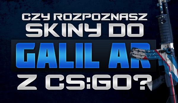 Czy rozpoznasz wszystkie skiny do Galil AR z gry CS:GO?