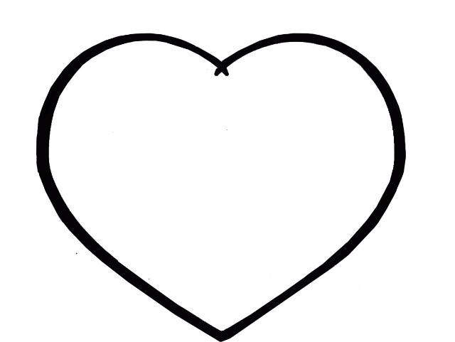 Картинки сердечек для рисования