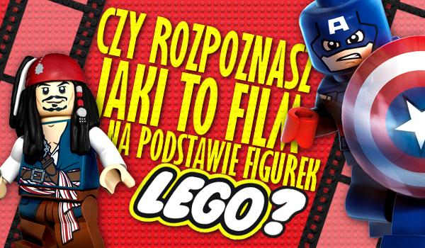 Rozpoznasz jaki to film na podstawie figurek LEGO?