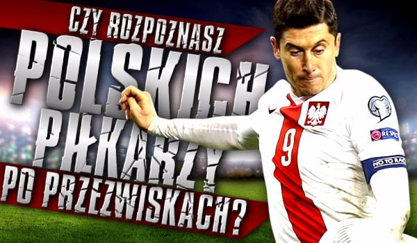 Czy rozpoznasz polskich piłkarzy po ich przezwiskach?