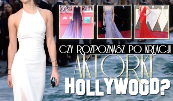 Czy rozpoznasz aktorki Hollywood na podstawie sukienek?