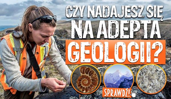 Czy nadajesz się na adepta geologii?