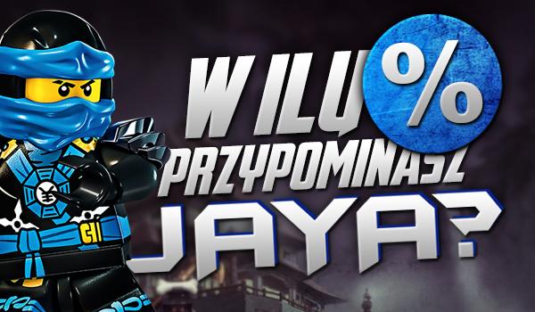 W ilu % przypominasz Jay'a?