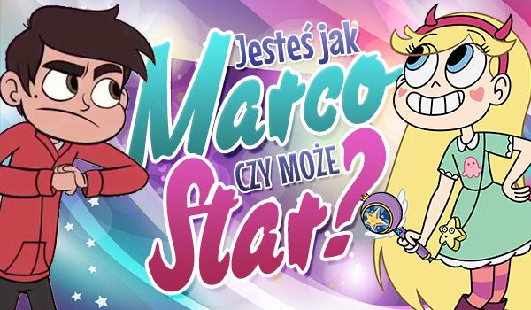 Jesteś bardziej jak Marco Diaz czy Star Butterfly?