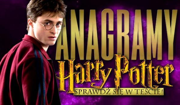 Anagramy – Harry Potter!