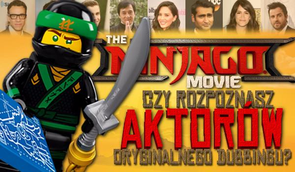 """Czy rozpoznasz aktorów udzielających głosu postaciom z filmu """"LEGO Ninjago""""?"""