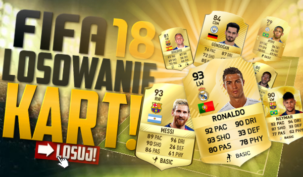 FIFA 18 – Losowanie Kart