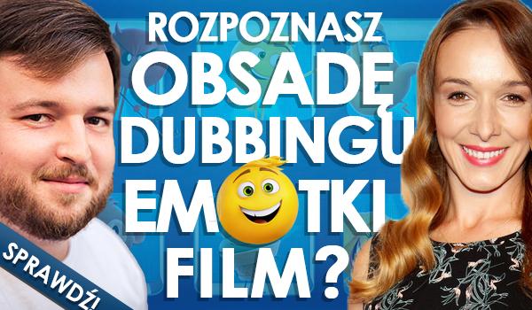 """Rozpoznasz obsadę dubbingu """"Emotki. Film""""?"""