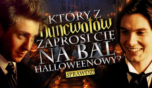 Który z Huncwotów zaprosi Cię na Bal Halloweenowy?