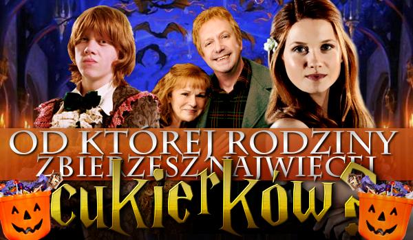 Harry Potter – od której rodziny zbierzesz najwięcej cukierków na Halloween?