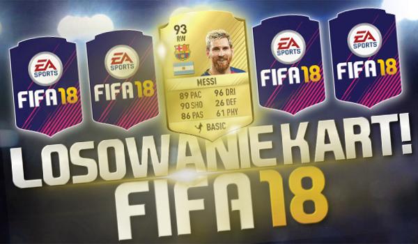 FIFA 18 – Losowanie kart!