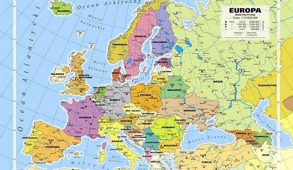 Stolice I Panstwa Europy Samequizy