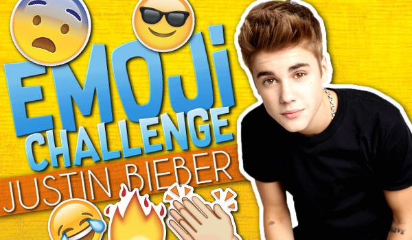 Emoji Challenge: Justin Bieber
