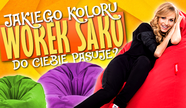 Jakiego koloru worek Sako pasuje do Ciebie?