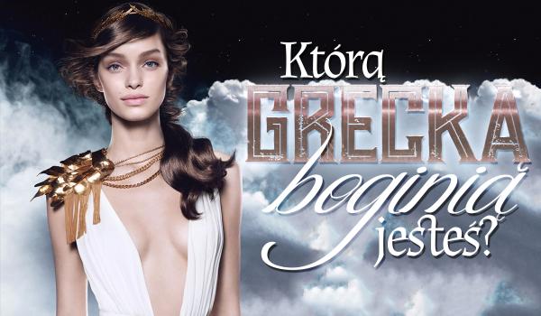 Którą grecką boginią jesteś?