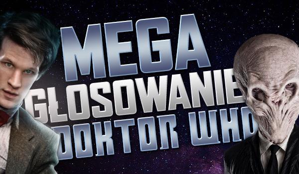 Mega głosowanie – Doktor Who