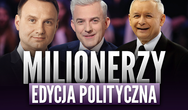 Milionerzy – Edycja Polityczna