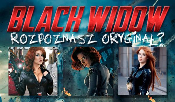 Rozpoznasz oryginał wśród cosplay'ów? #2 CZARNA WDOWA