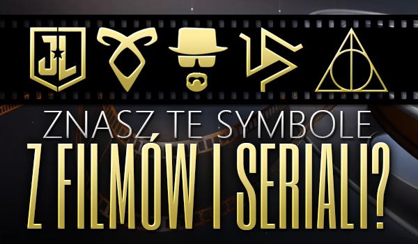 Znasz te symbole z filmów i seriali?
