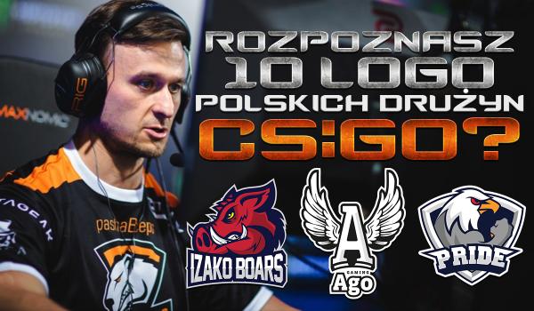 Czy rozpoznasz logo 10 losowych polskich drużyn CS:GO?