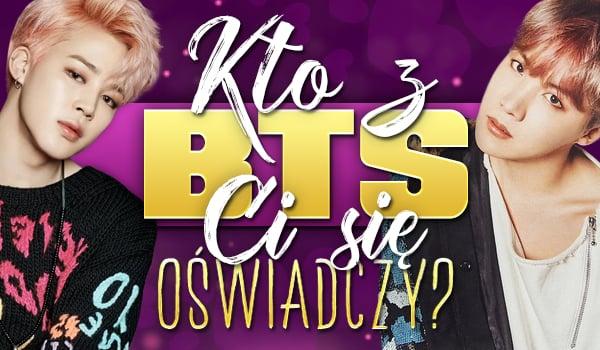 Kto z BTS Ci się oświadczy?