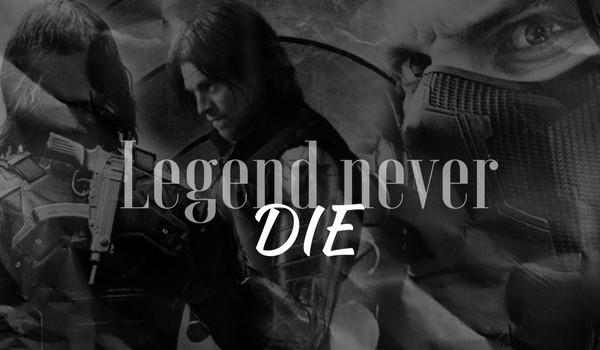 Legend never die #1 Bucky Barnes