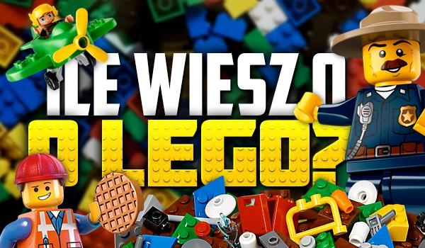 Co wiesz o LEGO?