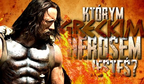 Którym greckim herosem jesteś?