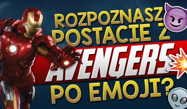 Czy uda Ci się rozpoznać postacie z Avengers po emoji?