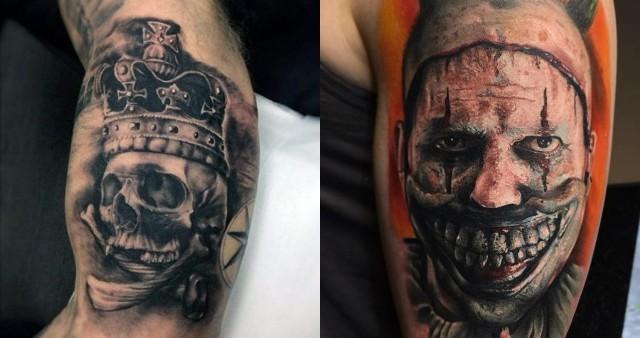 Co Wolisz Koszmarne Tatuaże Samequizy