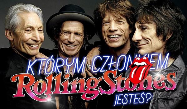 """Którym członkiem """"The Rolling Stones"""" jesteś?"""