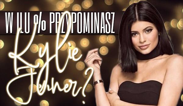 W ilu % przypominasz Kylie Jenner?
