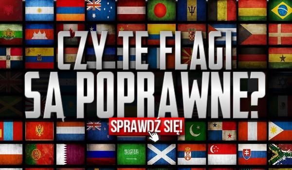Czy te flagi są poprawne?