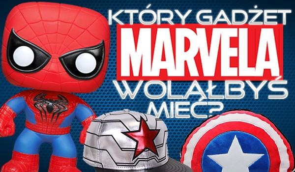 Który z tych gadżetów Marvelowych wolałbyś posiadać?