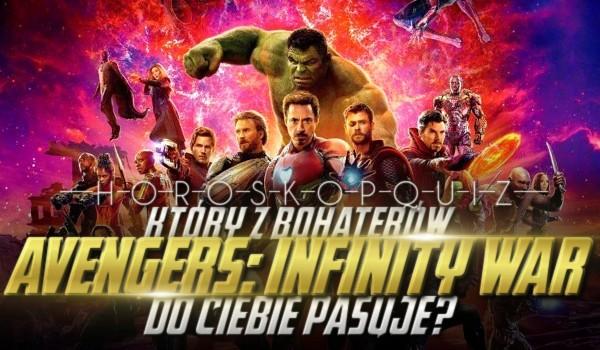 "Horoskopquiz: Jaki bohater ""Avengers: Wojna bez granic"" do Ciebie pasuje?"