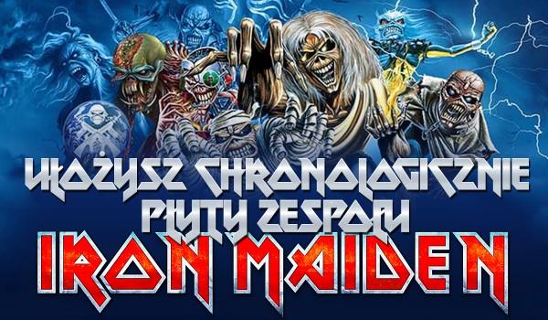 """Umiesz ułożyć chronologicznie albumy heavymetalowego zespołu """"Iron Maiden""""? Sprawdź!"""