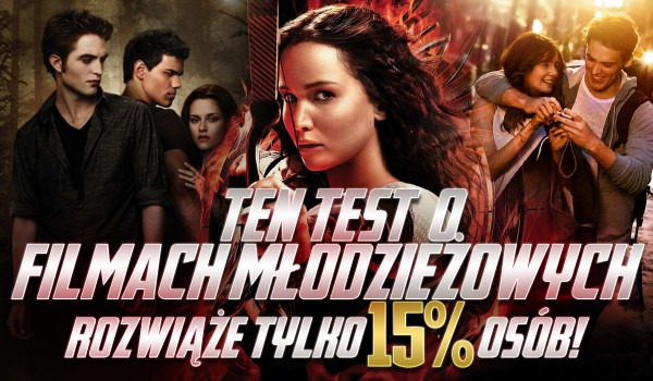 Ten quiz o filmach młodzieżowych rozwiąże tylko 15% ludzi!