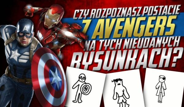 """Rozpoznasz postacie z """"Avengers"""" na tych nieudanych rysunkach?"""