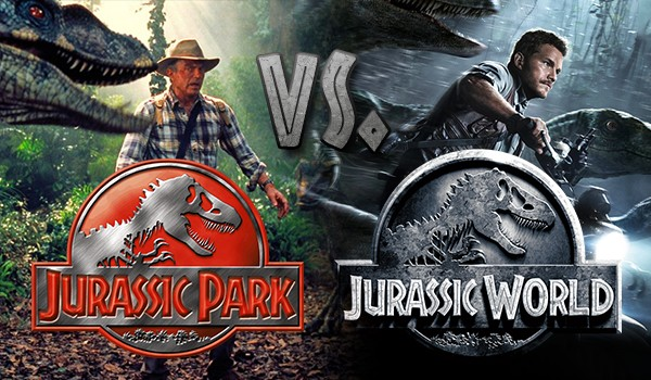 Jurassic Park vs. Jurassic World – czyli co wolisz?