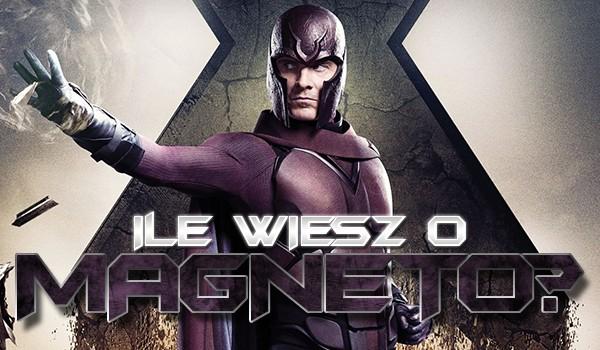 Ile wiesz o Magneto?