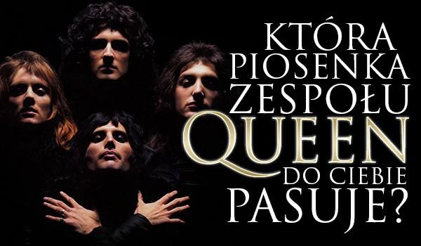 """Jaka piosenka zespołu """"Queen"""" do Ciebie pasuje?"""