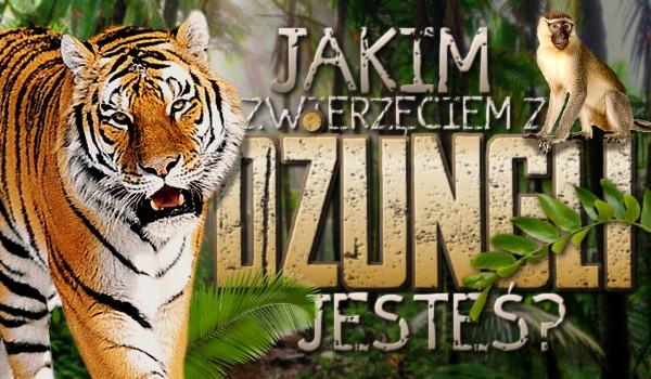 Jakim zwierzęciem z dżungli jesteś?
