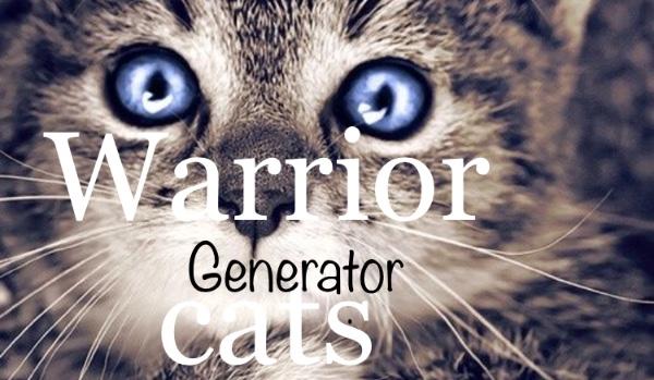 Warrior cats generator! | sameQuizy