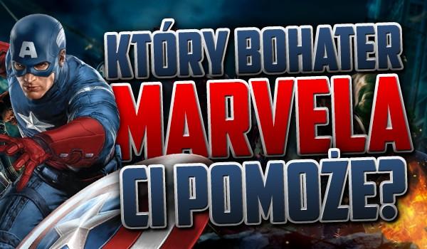 Który bohater Marvela Ci pomoże?