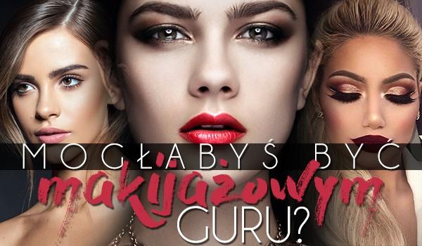 Czy możesz być makijażowym guru?