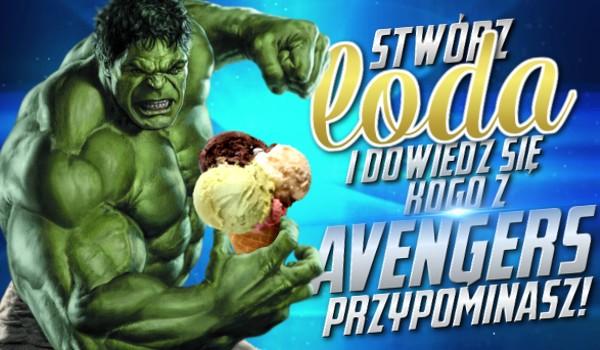 Stwórz loda i dowiedz się, kogo z Avengers przypominasz!