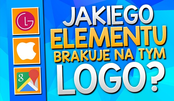 Jakiego elementu brakuje na tym logo?